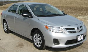 The Toyota Corolla.Credit: Wikipedia.