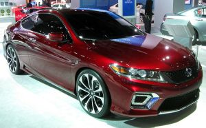 2013 Honda Accord Coupé Concept.Credit: Wikipedia.