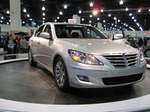 The Hyundai Genesis, named the 2009 North American Car of the Year.Credit: Wikipedia.