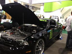 The 2013 Ford Mustang at CES.